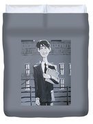 Paperman #1 Duvet Cover