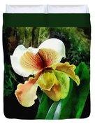 Paph Hellas Westonbirt Orchid Duvet Cover