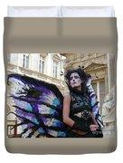 Papillion Femme Duvet Cover