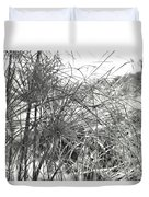 Papyrus Black And White Duvet Cover