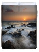 Paradise Flow Duvet Cover by Mike  Dawson