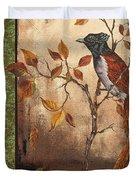 Paradise Flycatcher Duvet Cover