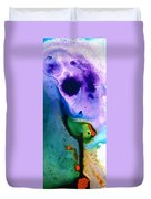 Paradise Found - Colorful Abstract Painting Duvet Cover