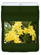 Paradise Orchid  Duvet Cover by Sonali Gangane