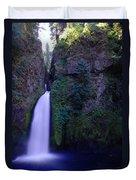 Paradise Pours Wanclella Falls Oregon Duvet Cover