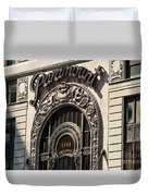Paramount - Broadway - Nyc Duvet Cover
