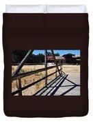 Paramount Ranch Bridge Duvet Cover
