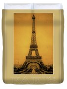 Paris 1889  Duvet Cover by Andrew Fare