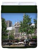 Paris Artist Row Duvet Cover