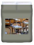 Paris Cafe 2 Duvet Cover