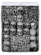Paris Catacombs Duvet Cover