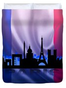 Paris City Duvet Cover