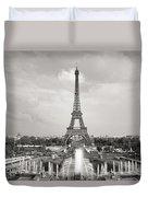 Paris Eiffel Tower Duvet Cover