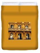 Paris Facade Duvet Cover