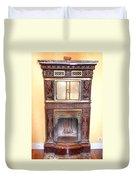 Paris Fireplace Duvet Cover