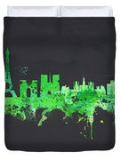Paris France Duvet Cover