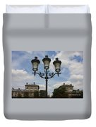 Paris Lamp Post Duvet Cover