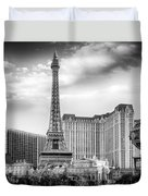Paris Las Vegas Duvet Cover