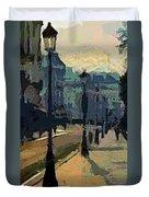 Paris  Morning Duvet Cover