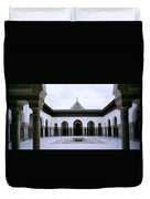 The Paris Mosque Duvet Cover