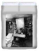 Paris Single Room, C1910 Duvet Cover