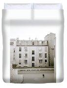 Solitude In Paris Duvet Cover