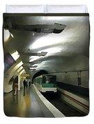 Paris Subway  Duvet Cover