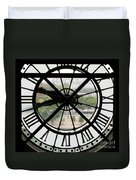 Paris Time Duvet Cover