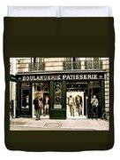 Paris Waiting Duvet Cover