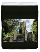 Parish Church Of St Candida And Holy Cross Duvet Cover