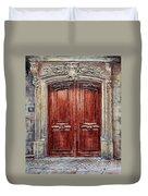Parisian Door No. 8 Duvet Cover