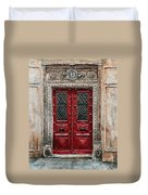 Parisian Door No.82 Duvet Cover