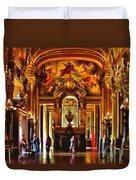 Parisian Opera House Duvet Cover