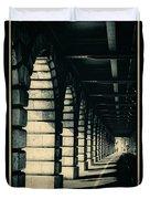 Parisian Rail Arches Duvet Cover