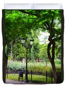 Park And Gardens Duvet Cover