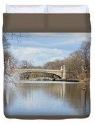 Park Avenue Bridge Duvet Cover