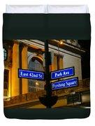 Park Avenue Duvet Cover