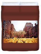 Park Avenue In The Spring  Duvet Cover