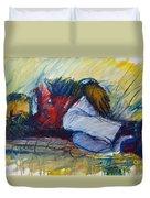 Park Bench Sleeper Duvet Cover