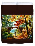 Park Bridge Duvet Cover