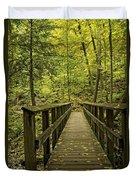 Park Bridge Duvet Cover