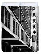 Park... Bw... Detroit Duvet Cover