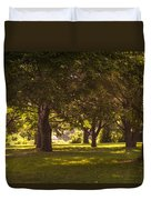 Park By The Rivers Duvet Cover