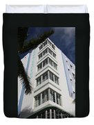 Park Central Building - Miami Duvet Cover