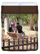 Park Games Duvet Cover