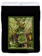 Park Palms Duvet Cover
