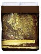 Park Shelter Filtered Duvet Cover