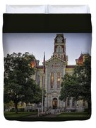 Parker County Courthouse Duvet Cover