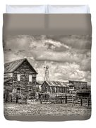 Parker Homestead Duvet Cover by Ken Smith