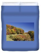 Parkway Road In North Carolina Duvet Cover